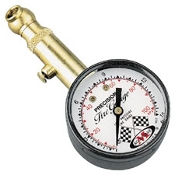 Accugage Low-Pressure SX Series Air Gauge 0-15 PSI. Ideal for Forks, ATV tires or any place that low air pressure needs to be measured.