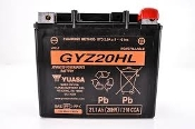 YUASA GYZ20HL Factory Sealed Battery