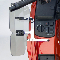 National Cycle fairing mounted wind deflectors N5109 light tint