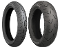 Bridgestone G709 130/70R18 front and Bridgestone G704 180/60R16 rear tire.